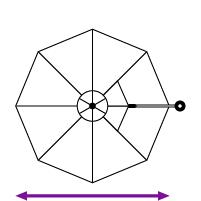 11'6'' Octagon